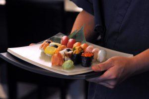 Sushi Nigiri au comptoir du sushi bar marseille prado