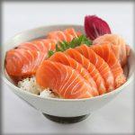 Chirashi saumon restaurant izakaya japonais