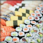 Plateau sushis deluxe restaurant japonais marseille