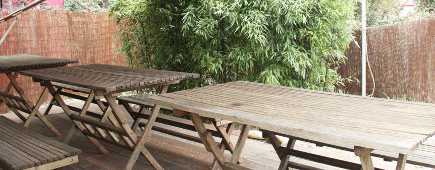 Terrasse restaurant japonais aix les milles