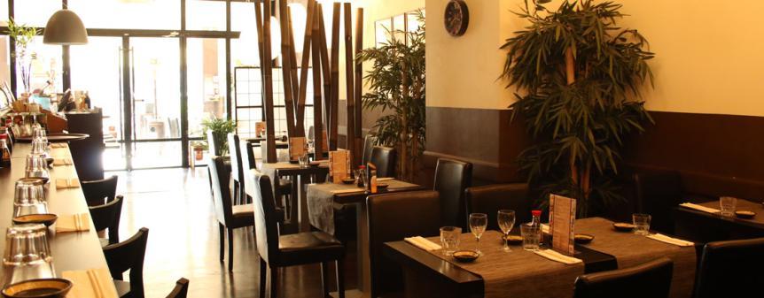 salle intérieure restaurant japonais marseille