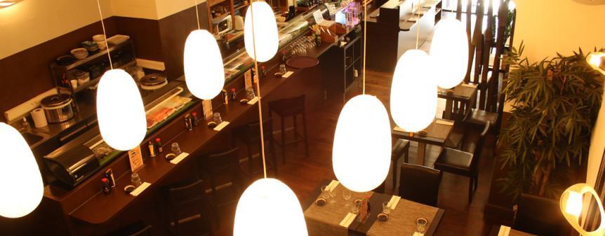 décoration restaurant japonais kyosushi marseille