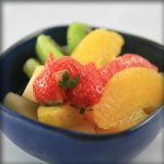 Salade de fruits restaurant kyo marseille