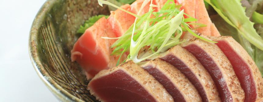Tataki spécialité thon japonais marseille