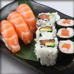 Sushi maki california saumon x6 restaurant japonais marseille