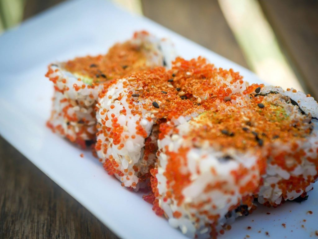 california roll spicy