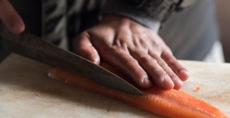 sushi découpe